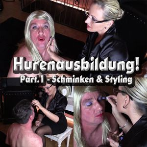 71909 - WHORES TRAINING Part.1 - make-up & styling