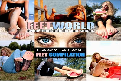 81906 - ALICJA FEET COMPILATION