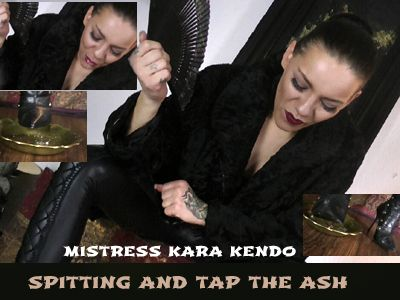 75122 - Spitting and tap the ash - Instruction