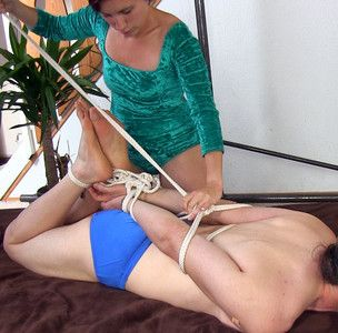 109452 - I'm tying this swimmer boy into a hogtie