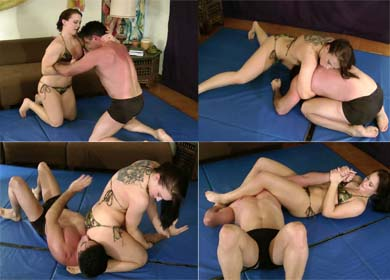 57620 - WRESTLE HER AT YOUR OWN RISK - CHEYENNE JEWEL - CLIP 05