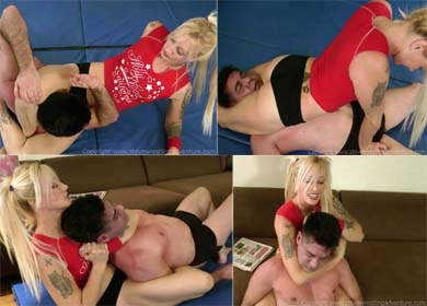 59960 - LIZ - QUEEN OF THE MATS - CLIP 05