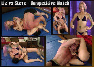 67154 - LIZ VS STEVE - COMPETITIVE MATCH