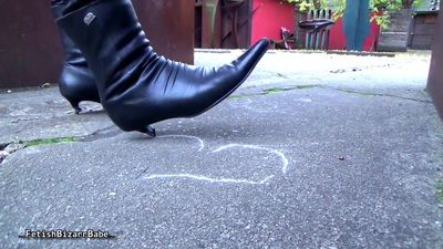 82354 - Public boots hot leather