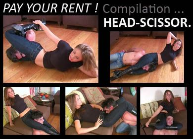 20620 - PAY YOUR RENT ! - COMPILATION HEAD-SCISSOR
