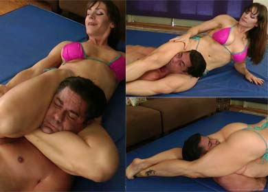 75840 - DUMMY THERAPY II - ANDREA - COMPILATION SCISSORHOLDS