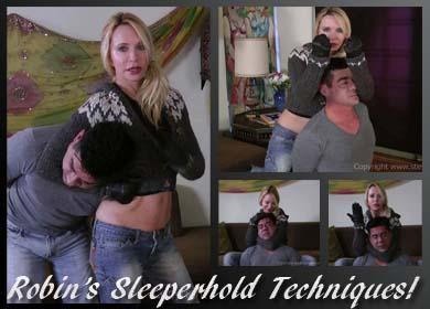 57443 - ROBIN'S SLEEPERHOLD TECHNIQUES
