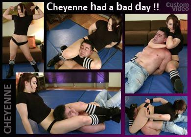 58775 - CHEYENNE HAD A BAD DAY !