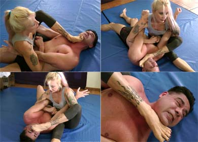 60489 - HOLDS FROM HELL II - SINGLE FOOT DOMINATION