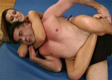 60932 - RANDY'S PRIVATE PRACTICE - REAR NAKED CHOKE HOLD