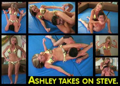 27575 - ASHLEY TAKES ON STEVE - FULL VIDEO