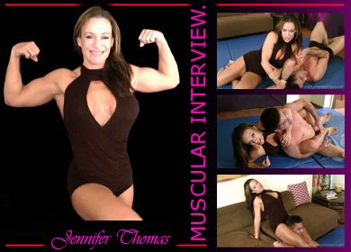 55104 - MERCILESS WRESTLING INTERVIEW WITH JENNIFER THOMAS