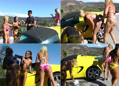 65024 - CAR WASH GOES WILD ! - CLIP 01