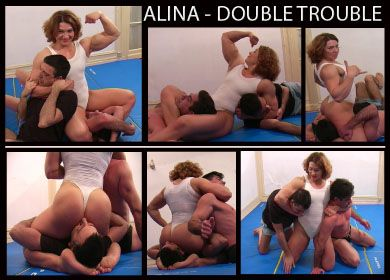 4112 - ALINA DOUBLE TROUBLE - FULL VIDEO