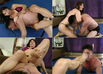 61734 - UNDER ANDREA'S FEET - CLIP 1