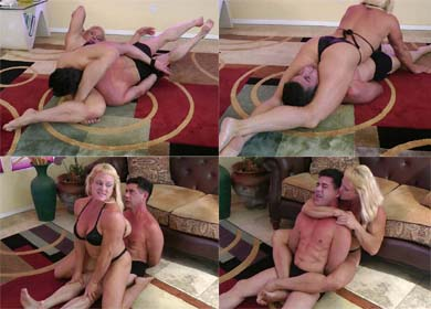 65917 - TRAPPED BY KASIE ! - CLIP 06