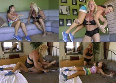64884 - JENNIFER BOUND AND TICKLED ! - CLIP 01