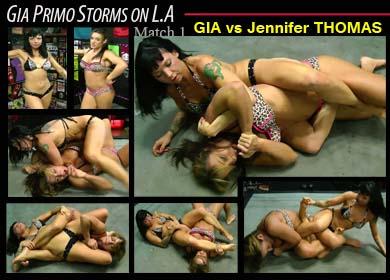 70200 - GIA PRIMO STORMS ON L.A - MATCH 1 - GIA VS JENNIFER THOMAS