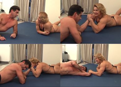 7490 - DON'T CHEAT ALINA - ARM-WRESTLING