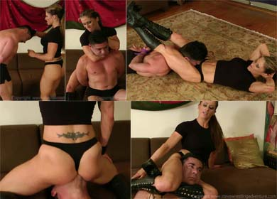62500 - MARIA'S FIRST SLAVE ! - CLIP 01