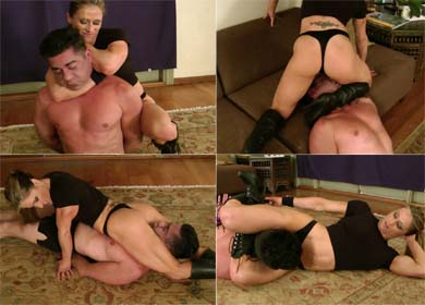 62504 - MARIA'S FIRST SLAVE ! - CLIP 02