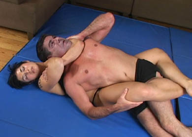 22835 - JUST KO ! COMBO SLEEPER/BODYSCISSOR
