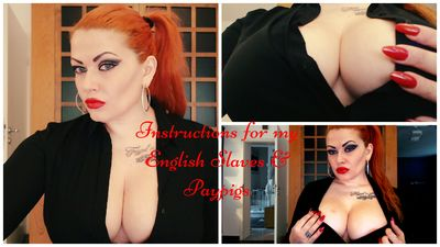 99795 - Instructions for my English Slaves & Paypigs
