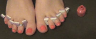 93802 - Painting My Pretty Toes Pink