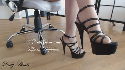 95384 - nylon foot and legs