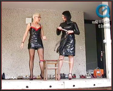 27986 - Annie And Katja - Testing Canes And Crops (mov)