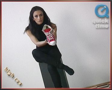 28657 - Cindy - Red Sneakers