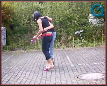 30487 - Annie And Katja - Aching Feet