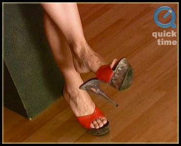 4264 - Miss Betty - Red Heels