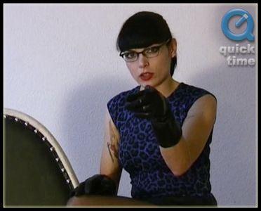 7771 - Carmen - Putting On Gloves