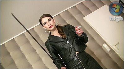 78521 - Caned With A Rubber Cane - Swetlana