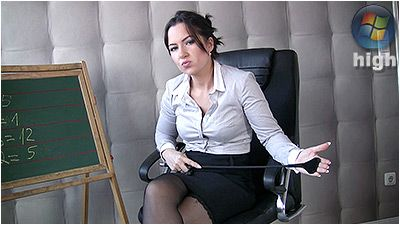 80409 - The Strict Teacher - Lady Danica
