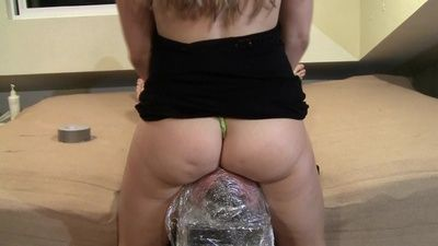 100495 - Cling Wrap Stool PART 2 - Thong