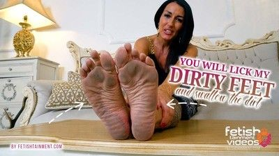 168566 - You will lick my dirty feet clean