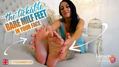 168758 - My sexy bare feet on your face