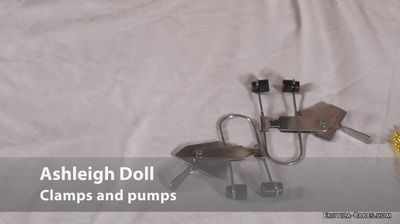 102121 - Ashleigh Doll pregnant clamps and pumps