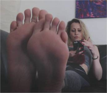 106748 - Jerk to my feet while I ignore you