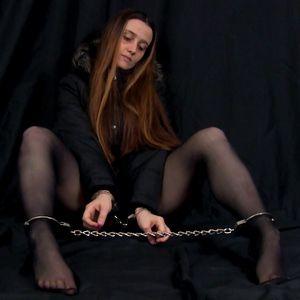 109202 - Hot Nylons and Cuffs - Anorak Posing