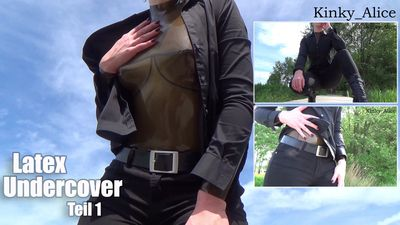 111745 - Latex Undercover - Teil 1  -  Latex Undercover - Part 1