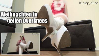 112811 - Christmas with kinky Overknee Boots