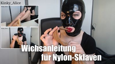 113223 - Jerk Off Instruction for Nylon-Slaves