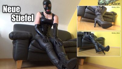 113902 - Neue Stiefel  -  New Boots