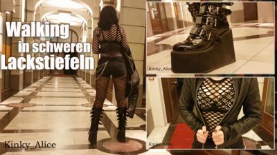 115170 - Walking in heavy PVC Boots
