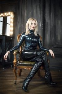 143569 - Katya wearing latex