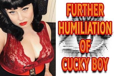 160197 - FURTHER HUMILIATION OF CUCKY BOY