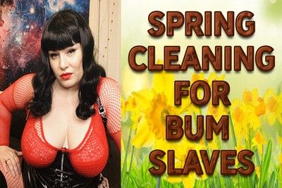 161040 - SPRING CLEANING FOR BUM SLAVES